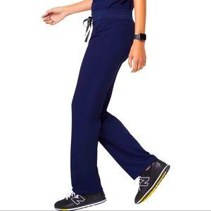 FIGS Livingston Scrub Pants Navy Blue XXS Petite